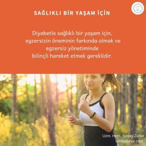 Diyabetle yaşamda egzersiz